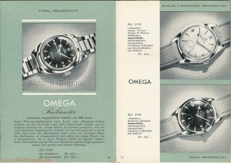 Omega Railmaster de 1959