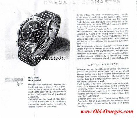 Omega Speemaster de 1959